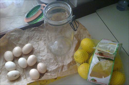 ALcuni degli ingredienti del VOV; notate il boccione ermetico dove la pozione verrà preparata...*_*